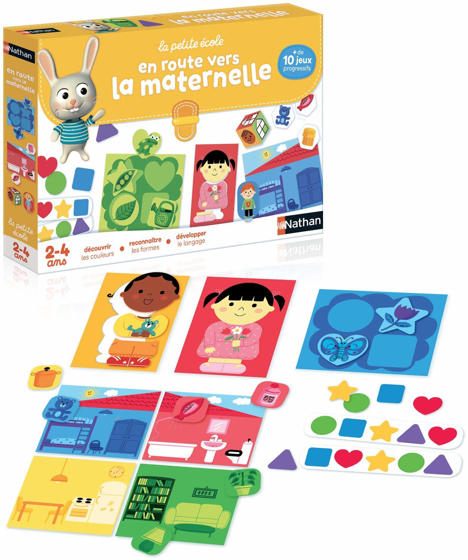 "Diset A1504195 gra edukacyjna ""En Route Vers La Maternelle"" (wydanie francuskie)"
