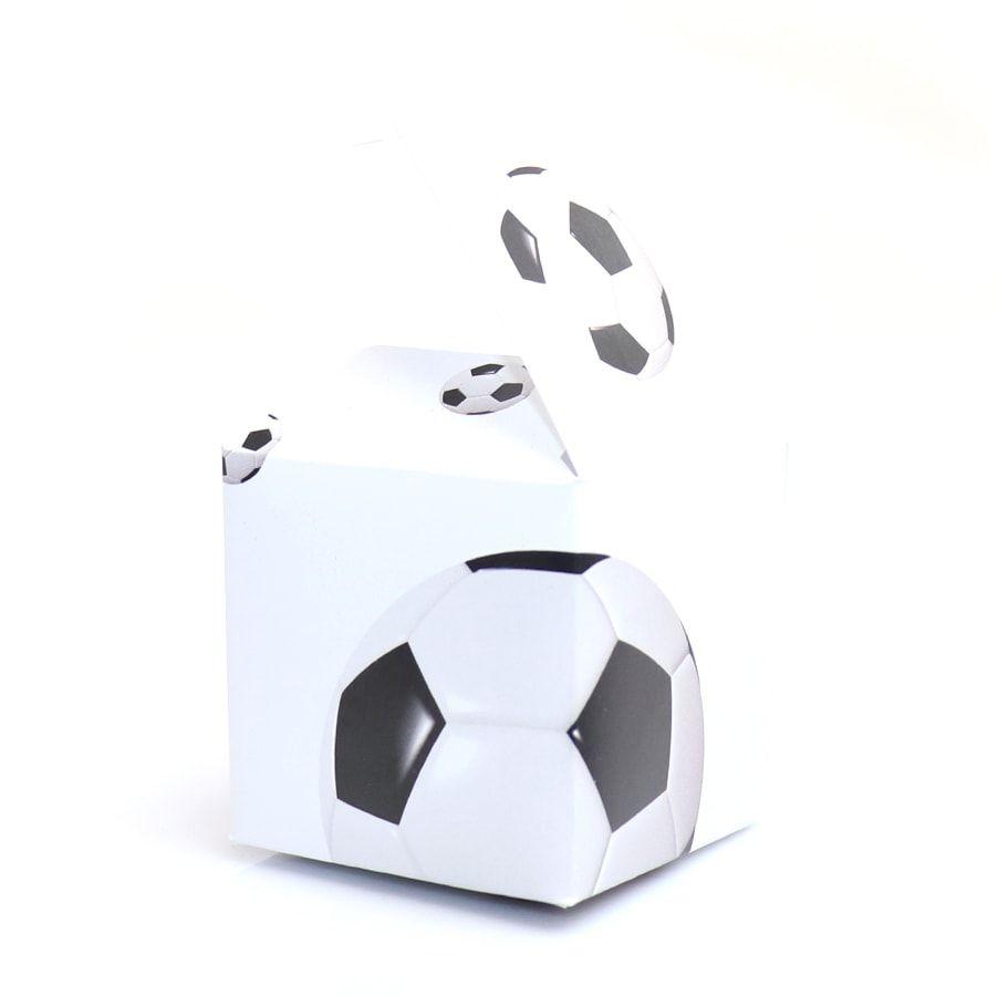 Pudełeczka dla gości Piłka Nożna - 6 szt.