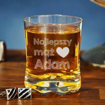 Najlepszy mąż - Szklanka do whisky