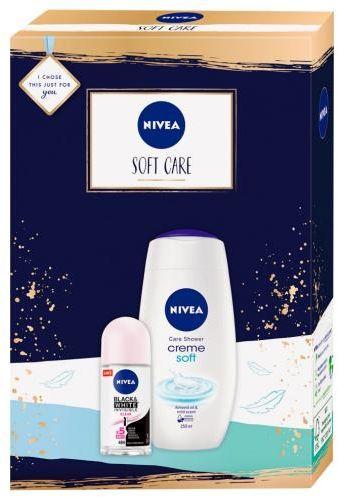 Nivea Soft Care zestaw kosmetyków 2 sztuki