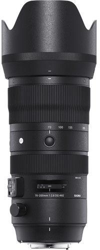 Sigma S 70-200mm f/2.8 DG OS HSM - obiektyw zmiennoogniskowy do Canon EF Sigma S 70-200mm f/2.8 DG OS HSM / Canon / Teleobiektyw Zoom