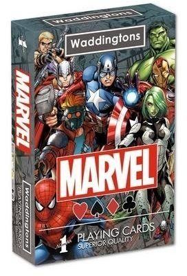 Waddingtons No. 1 Marvel Universe Playing Cards - Winning Moves