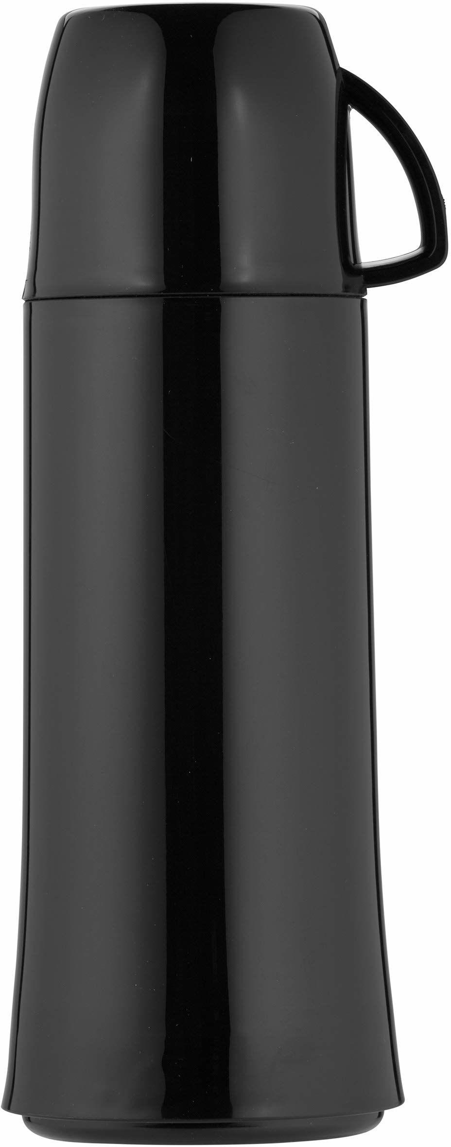 Helios Elegance termos, tworzywo sztuczne, czarny, 0,75 litra
