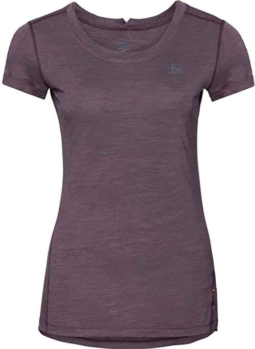 Odlo damska koszulka SUW, Plum Perfect/Quail, S
