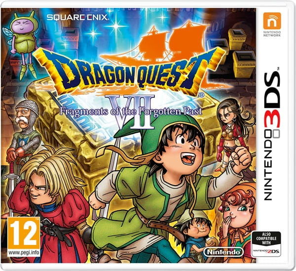 Gra Dragon Quest VII: Fragments of the Forgotten Past (Nintendo 3DS)