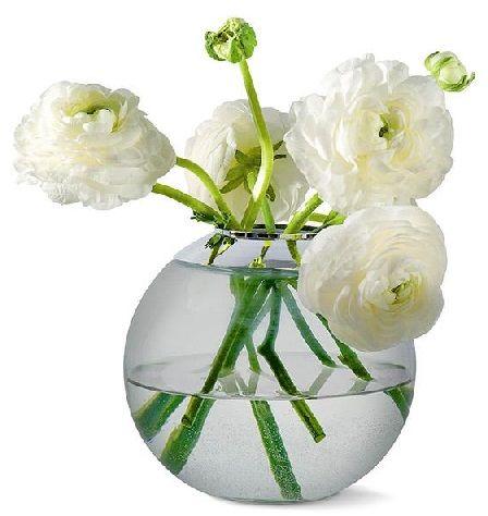 GLOBO Glass Vase Wazon 3w1 D15