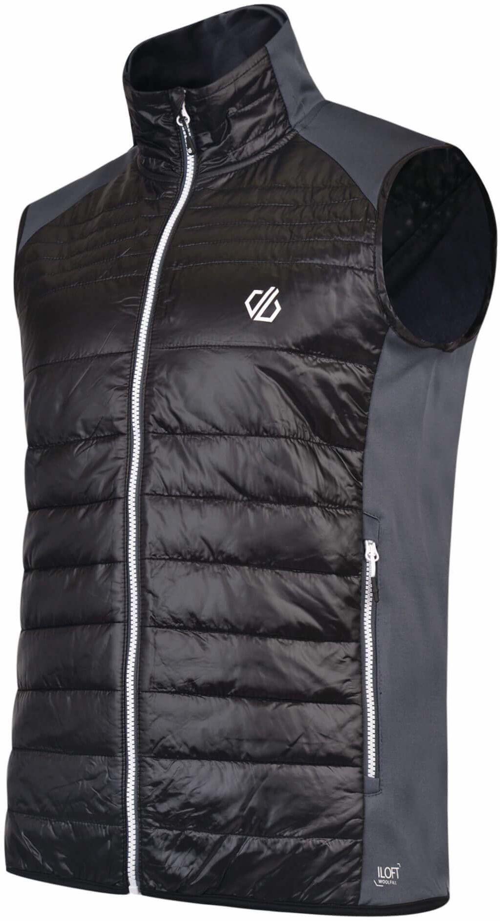 Dare 2b Mountfusion męska kurtka puchowa bez rękawów Montusion Wool 3XL Black/QryGry