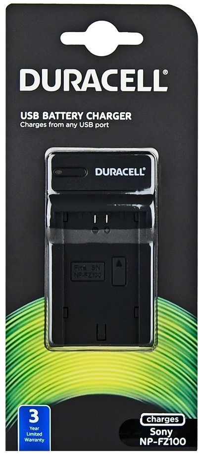 Duracell DRS5961 - ładowarka USB do akumulatorów Sony NP-FZ100 Duracell DRS5961