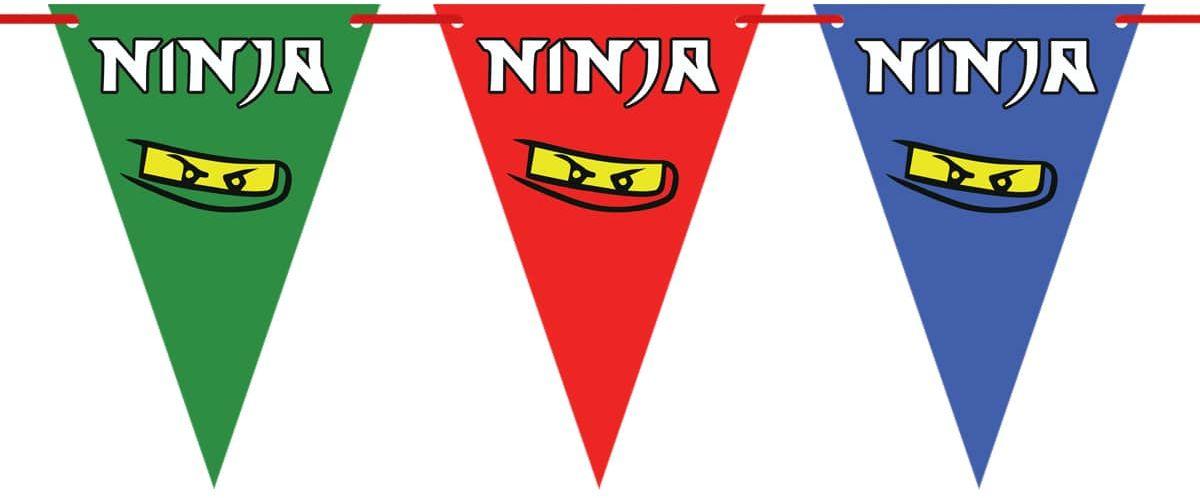 Baner flagi Ninja - 500 cm - 14 szt.