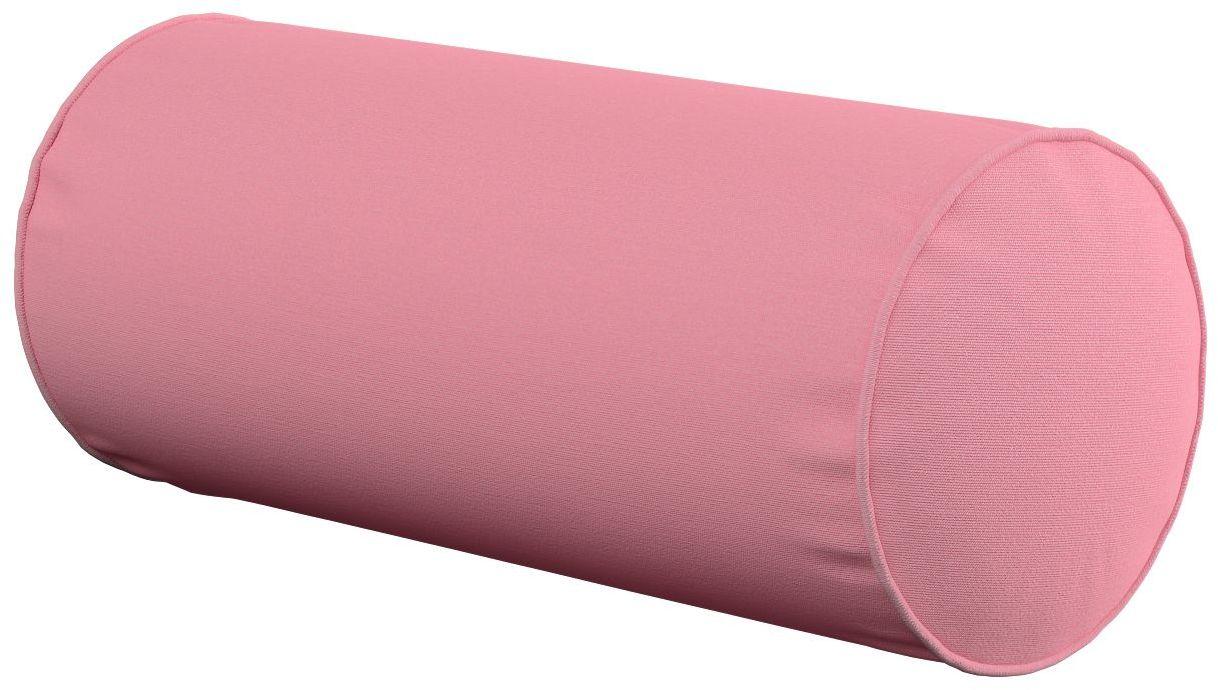 Poduszka wałek prosty, brudny róż, Ø16  40 cm, Loneta