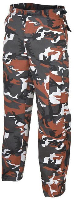 Spodnie wojskowe Mil-Tec US Ranger BDU Red Camo (11810082)