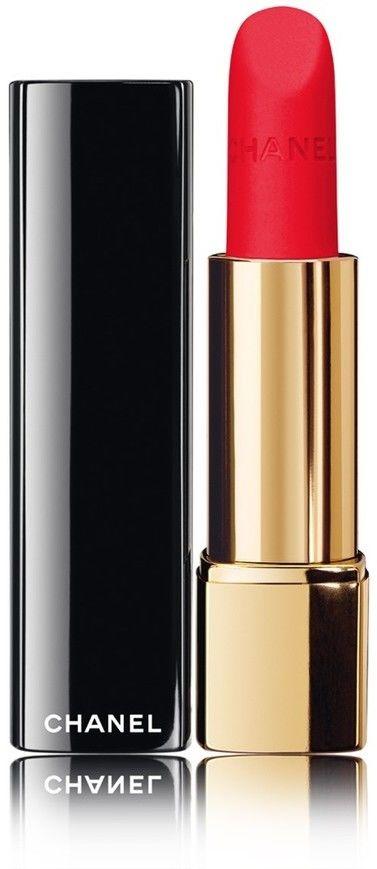 Chanel Rouge Allure Velvet jedwabista pomadka z matowym wykończeniem odcień 66 Lindomabile 3,5 g