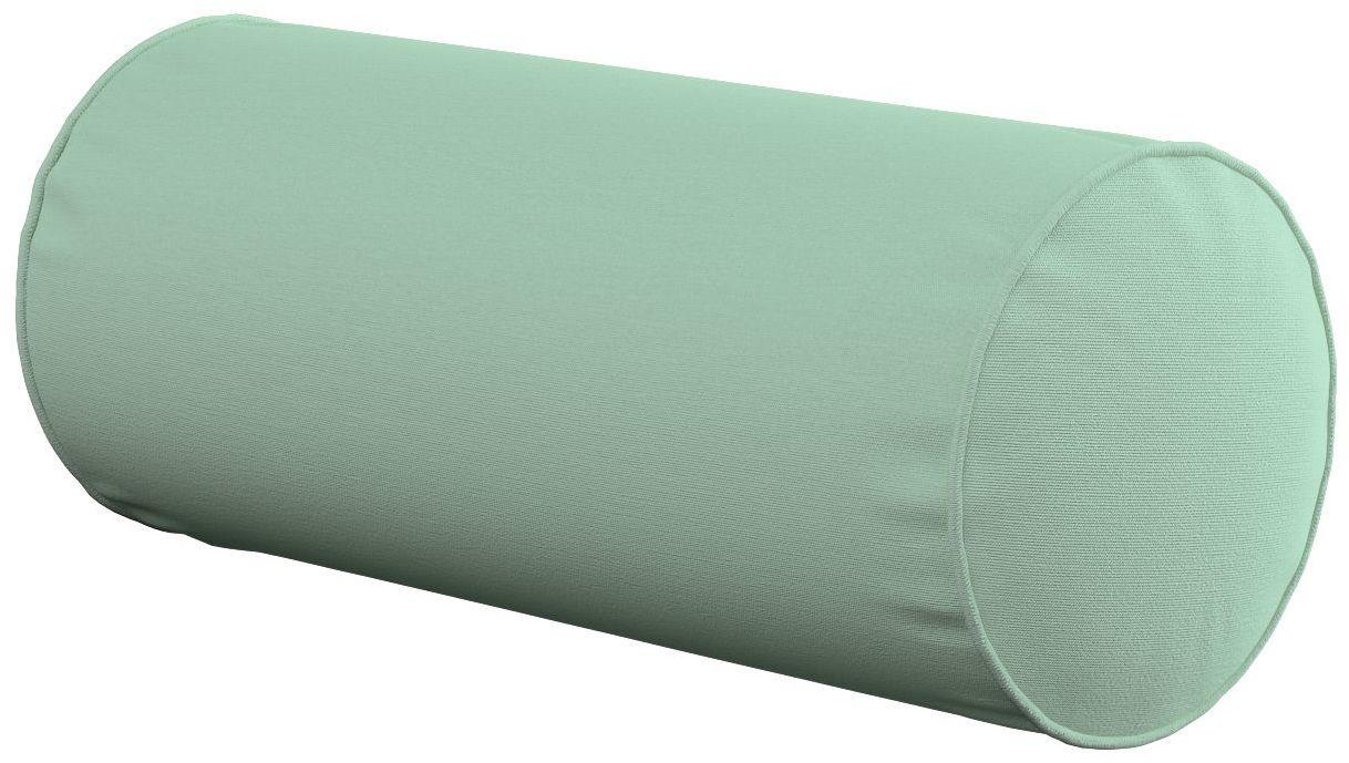 Poduszka wałek prosty, zieleń eukaliptusa, Ø16  40 cm, Loneta
