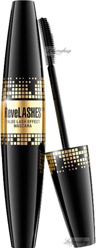 Eveline Cosmetics - ReveLASHES False Lash Effect Mascara - Pogrubiający tusz do rzęs - Deep Black