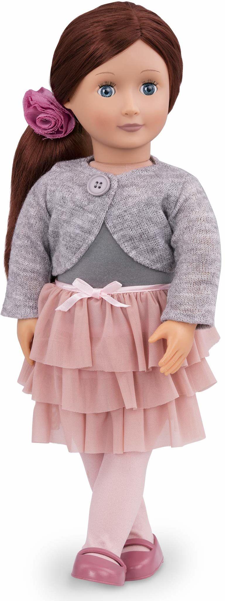 Our Generation BD31008Z lalka z falbanką spódnicą, Ayla, różne