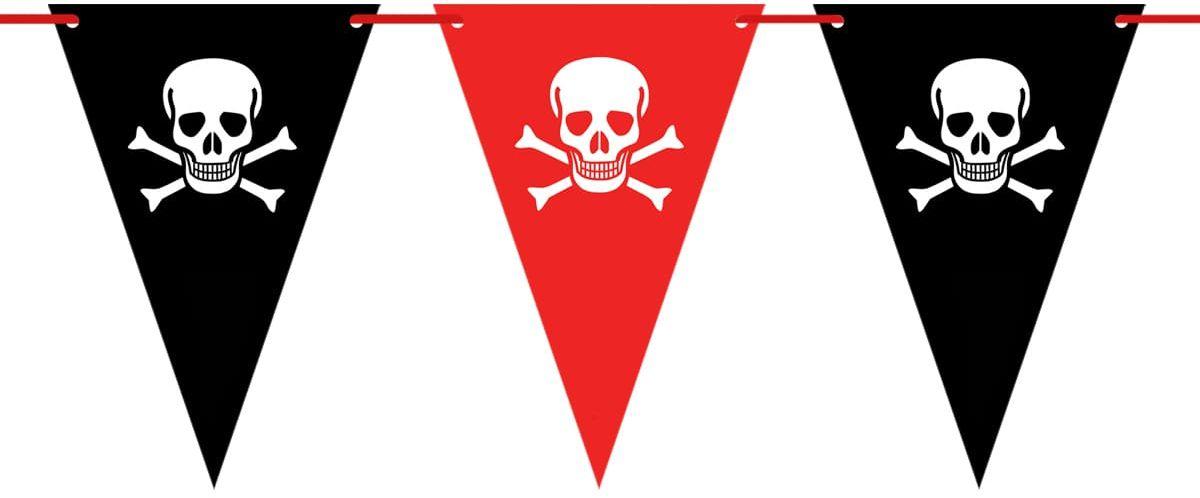 Baner flagi Pirat - 500 cm - 14 szt.