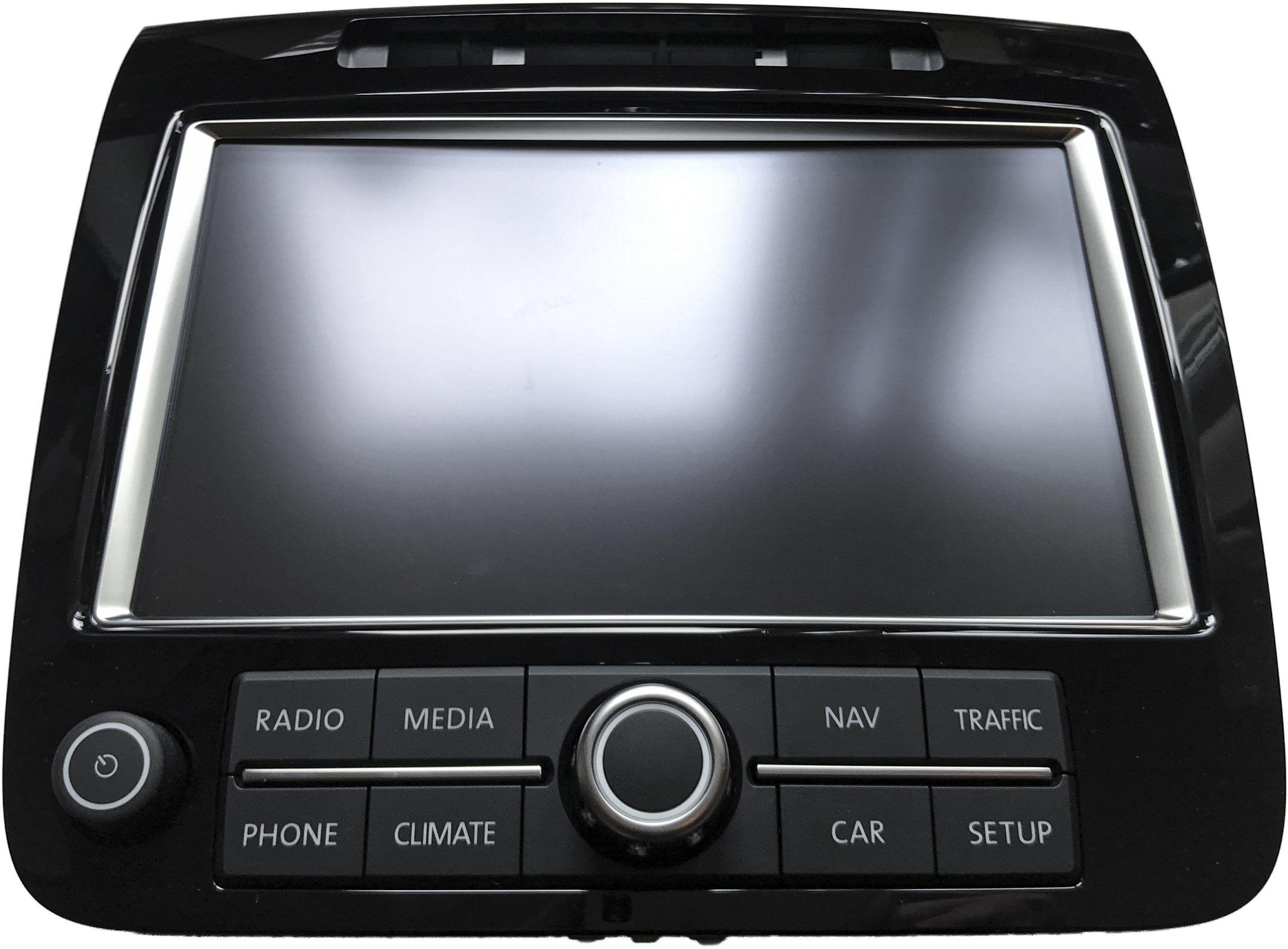 Nowy Oryginalny Monitor Nawigacji LCD Navi MMI Display Touch ALPINE VW TOUAREG 2011-2014 7P 7P6919603
