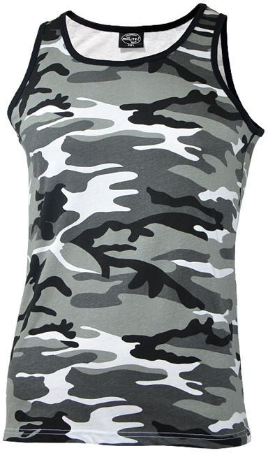 Koszulka bez rękawów Mil-Tec Tank Top Urban (11001022)