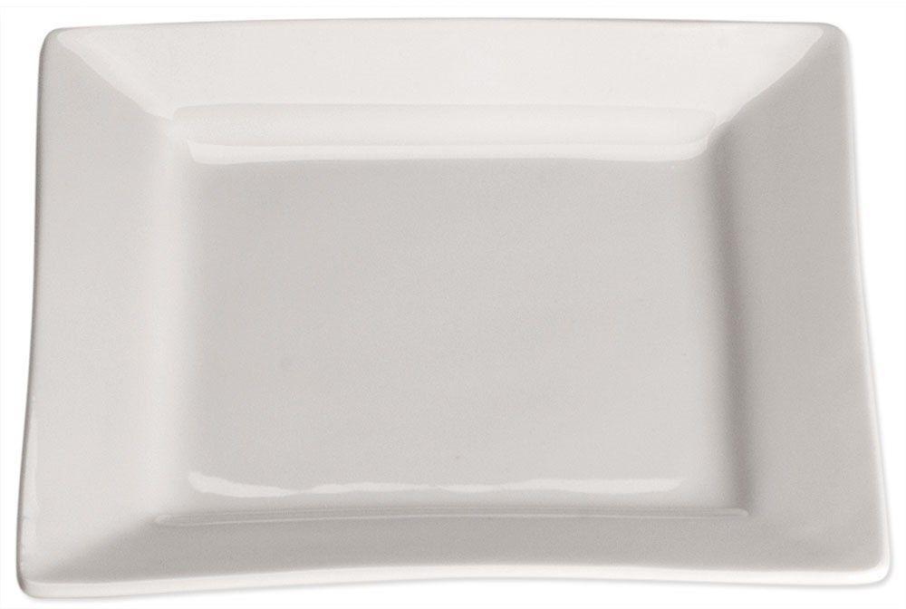Talerz płytki, kwadratowy, 150x150 mm