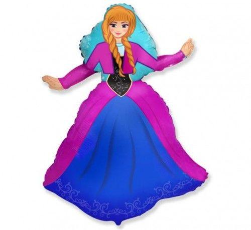 Balon foliowy Frozen - Kraina Lodu, Anna