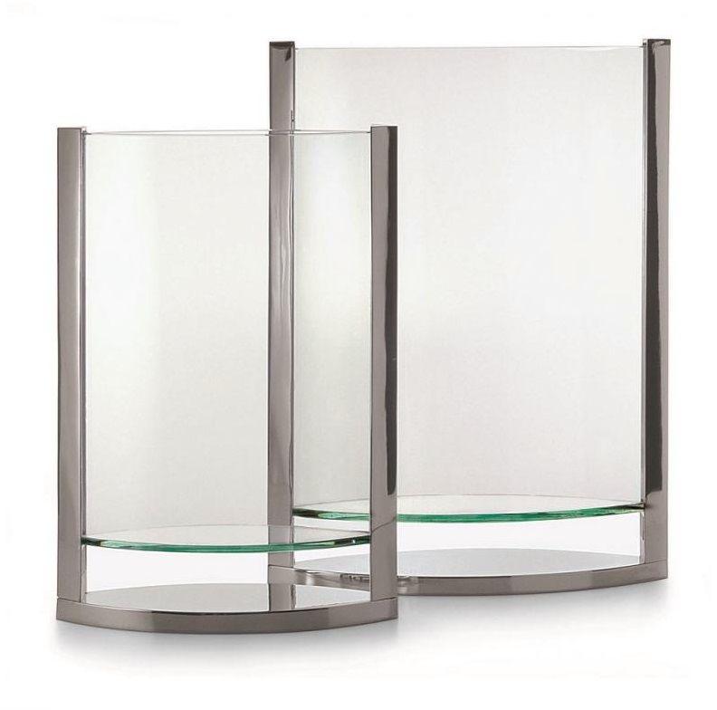 DECADE Glass Vase Wazon H35