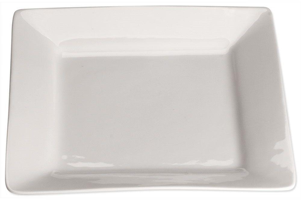 Talerz płytki, kwadratowy, 200x200 mm