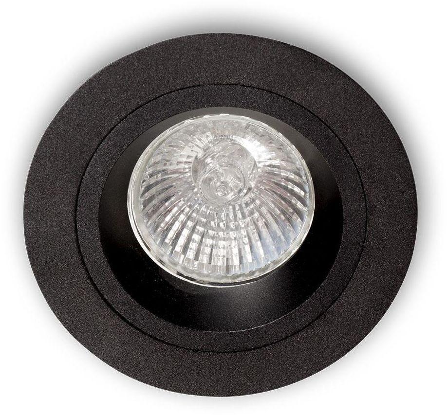 Oprawa halogenowa Foro Nero Orlicki Design okrągła oprawa w kolorze czarnym