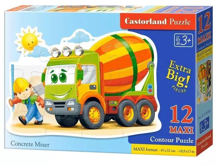 Puzzle 12 maxi Betoniarka CASTOR - Castorland
