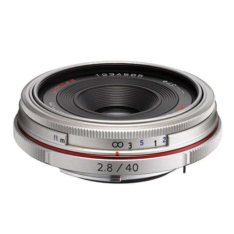Obiektyw Pentax HD DA 40mm f/2,8 Limited Srebrny