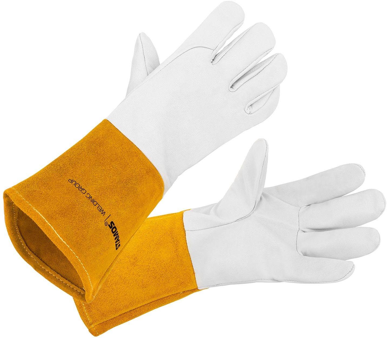 Rękawice spawalnicze - TIG - białe - Stamos Welding - SWG02 - 3 lata gwarancji/wysyłka w 24h