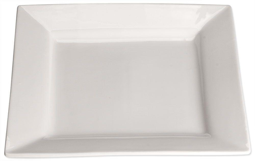 Talerz płytki, kwadratowy, 250x250 mm