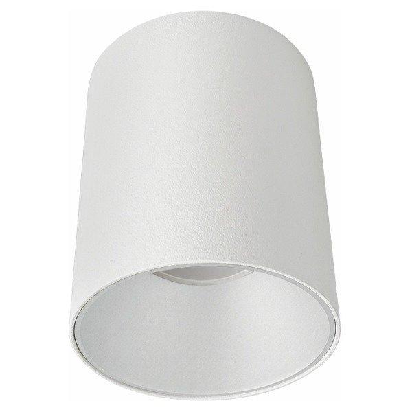 Spot sufitowy designerski tuba EYE TONE biały śr. 8,9cm