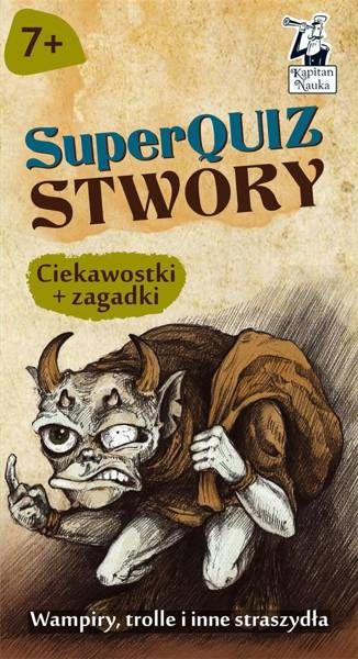 Kapitan Nauka SuperQuiz Stwory