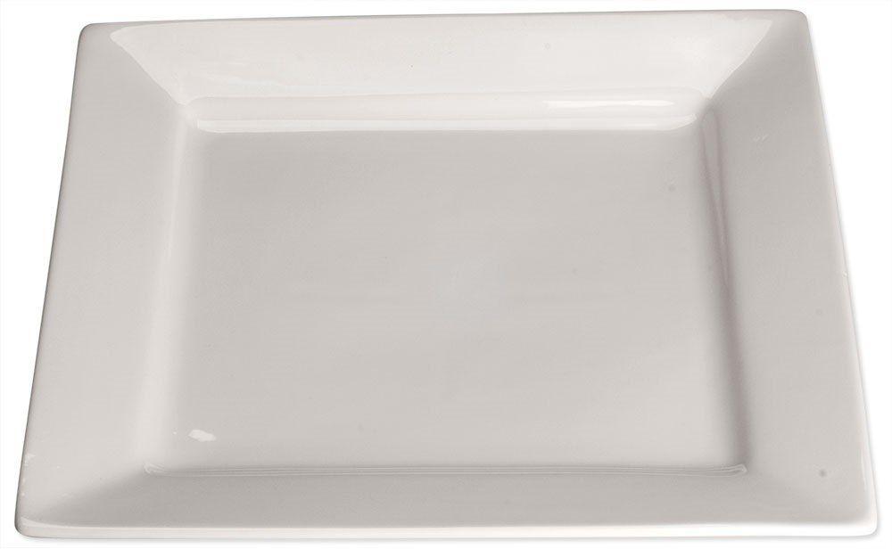 Talerz płytki, kwadratowy, 300x300 mm