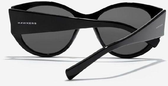 HAWKERS -Duże okulary przeciwsłoneczne Miranda Czarne HA-HMIR21BBX0