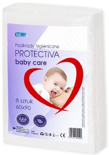 Protectiva Baby Care podkłady higieniczne 60x90cm 8 sztuk