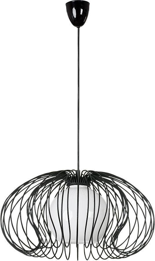 Lampa wisząca Mersey 5296 Nowodvorski Lighting czarna druciana oprawa w dekoracyjnym stylu