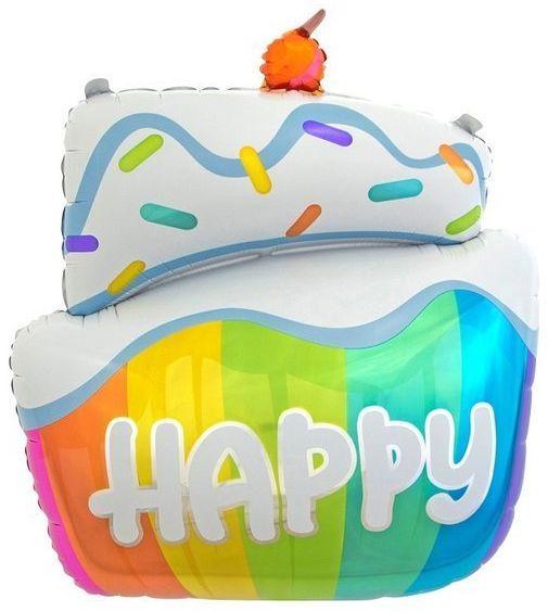 Balon foliowy Tort 60 cm HS-TRHP