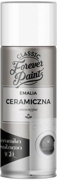 Emalia ceramiczna renowacyjna Forever Paints 400 ml biała