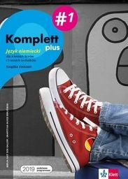 Komplett plus 1. Zeszyt ćwiczeń do języka niemieckiego dla 4-letnich liceów i 5-letnich techników ZAKŁADKA DO KSIĄŻEK GRATIS DO KAŻDEGO ZAMÓWIENIA