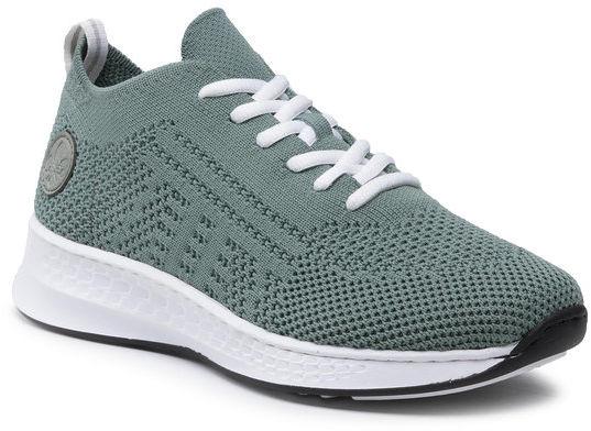 Rieker Sneakersy N56K5-52 Zielony