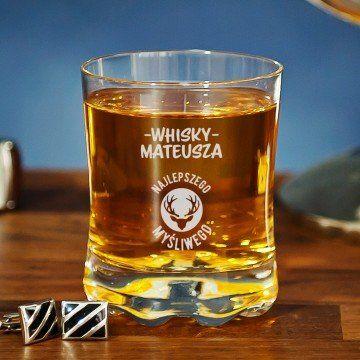 Whisky najlepszego myśliwego - Szklanka do whisky