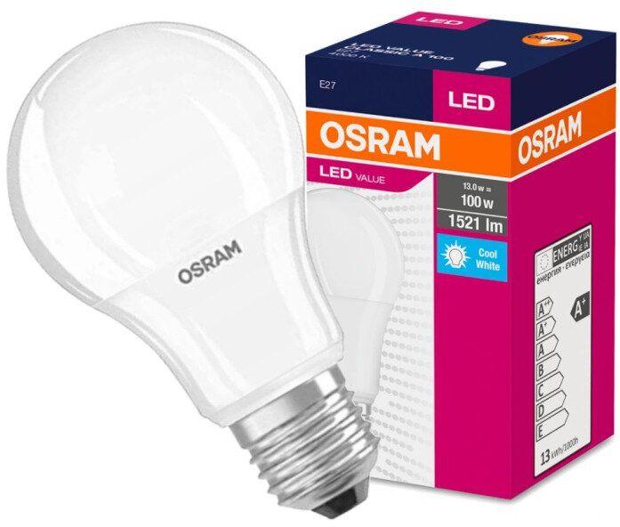 Żarówka LED OSRAM E27 13W LED VALUE CLASSIC A 100 Naturalna 4000K