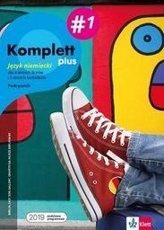 Komplett plus 1. Język niemiecki dla 4-letnich liceów i 5-letnich techników. Podręcznik ZAKŁADKA DO KSIĄŻEK GRATIS DO KAŻDEGO ZAMÓWIENIA