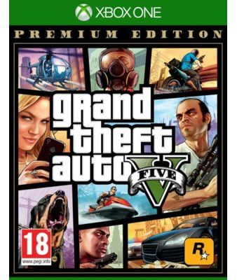 Gra Xbox One Grand Theft Auto V Premium Edition