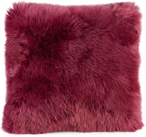 Gözze poszewka na poduszkę z owczej skóry, 40 x 40 cm, jagoda, 40149-40-4141
