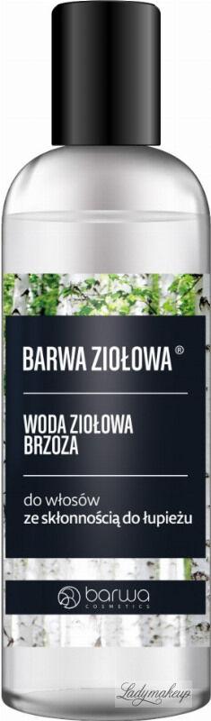 BARWA - Woda brzozowa do włosów z łupieżem - 95 ml