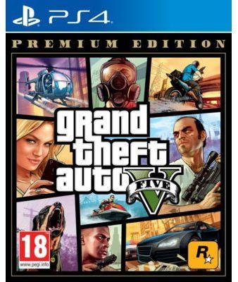 Gra PS4 Grand Theft Auto V Premium Edition. > DARMOWA DOSTAWA ODBIÓR W 29 MIN DOGODNE RATY