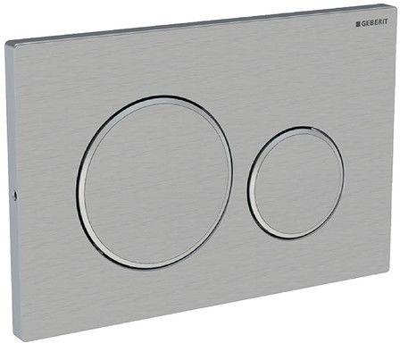 Sigma20 przycisk uruchamiający przedni do spłuczek podtynkowych UP320 stal szlachetna - 115.889.SN.1