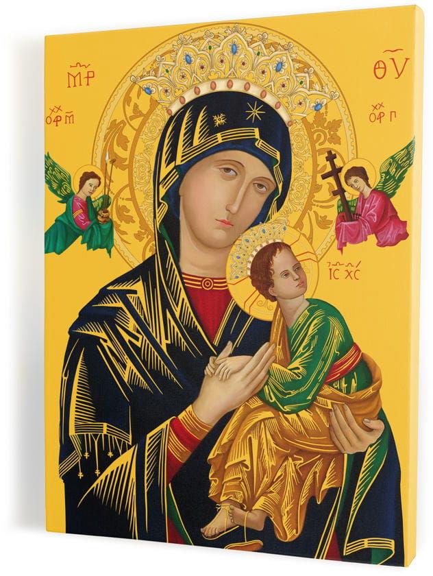 Matka Boża Nieustającej Pomocy, obraz religijny na płótnie canvas
